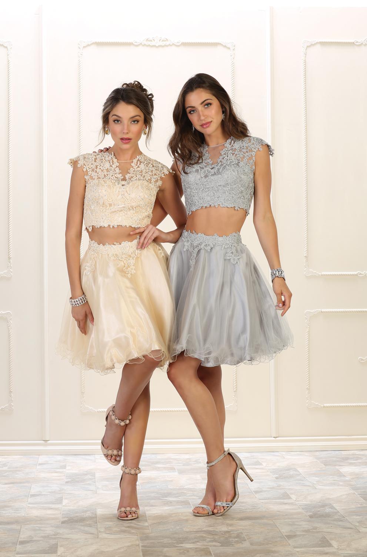 Short Tan Prom Dresses 2018